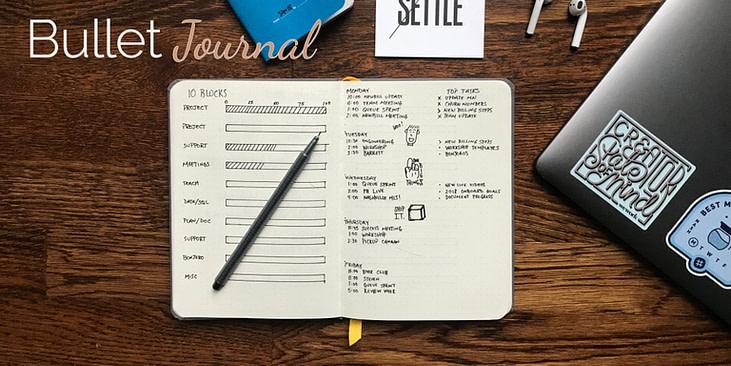 Fitnesstracking Bullet Journal
