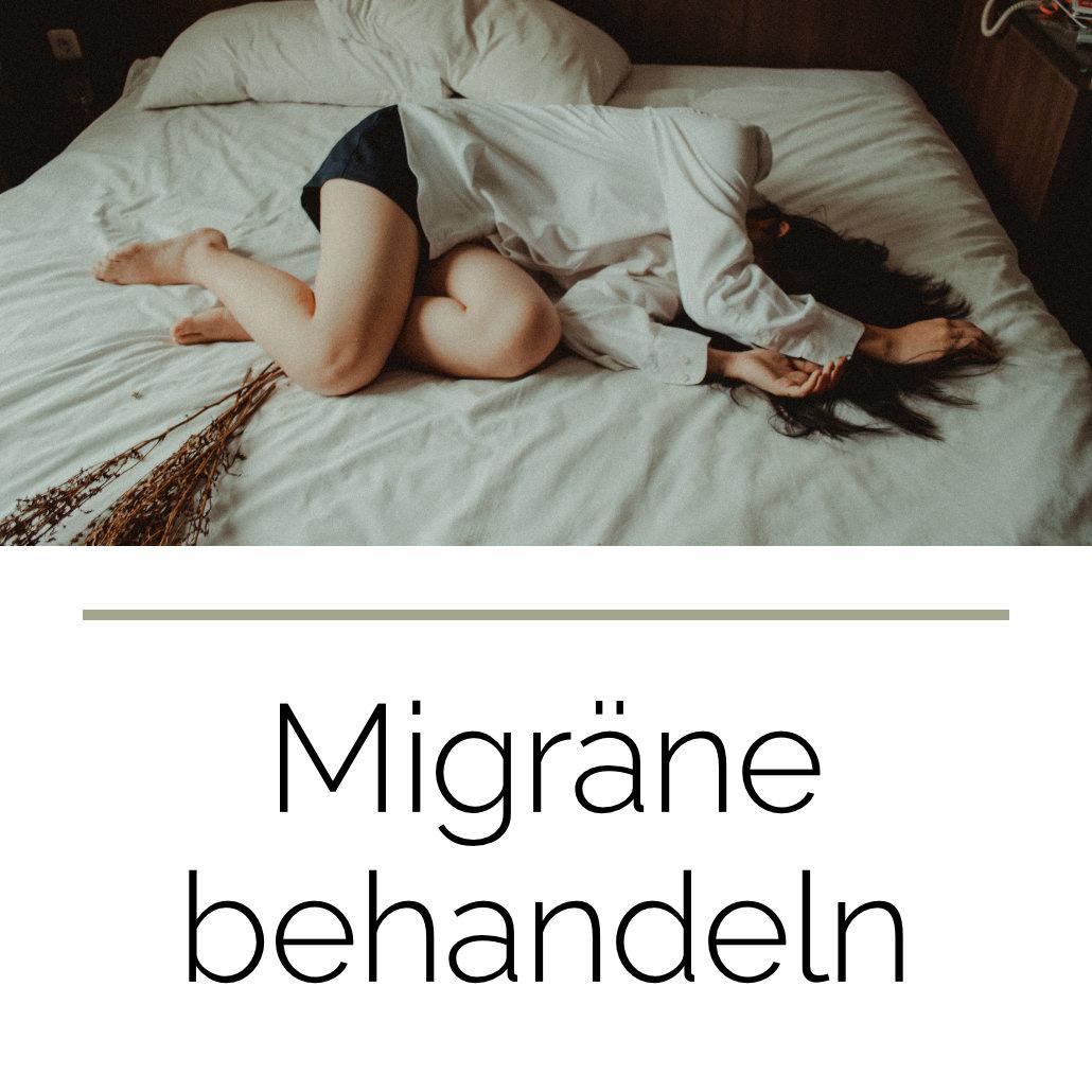Migräne behandeln