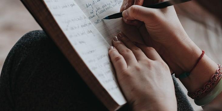 Gedanken distanzieren aufschreiben